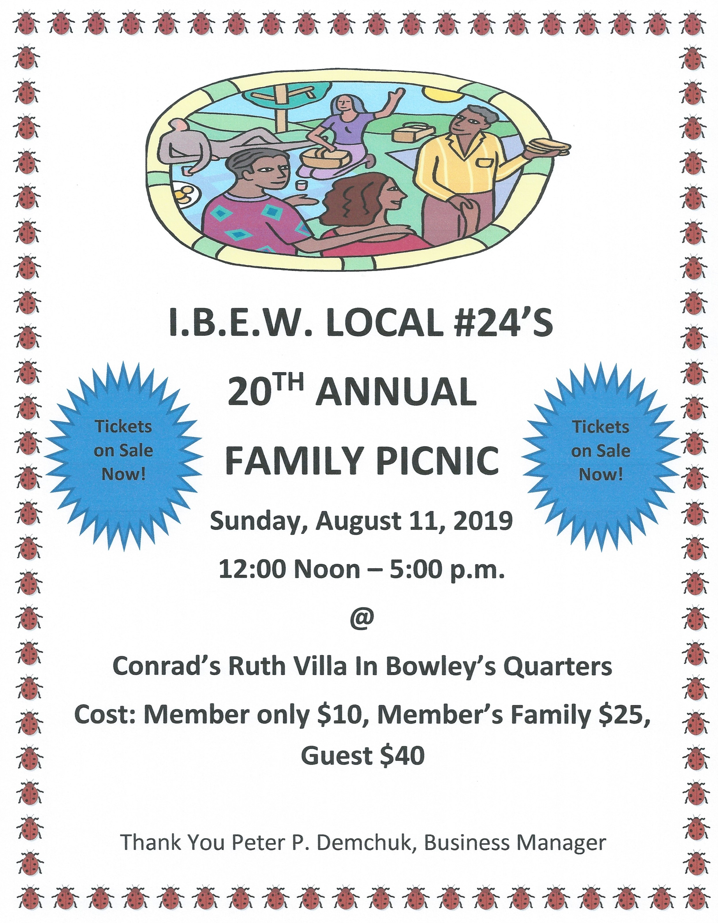 <br /><strong>A great day of family fun on Sunday, August 11