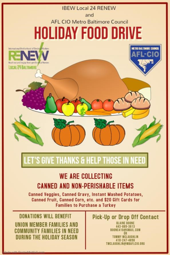 <br /><strong>Please help to ensure that no one goes hungry this Thanksgiving